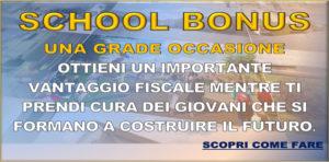 SCHOOL BONUS SAN TOMASO CORREGGIO